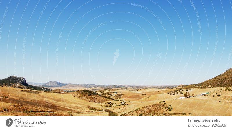Donde Dios es servido [XXI] Natur Ferien & Urlaub & Reisen Sommer Ferne Landschaft Freiheit Hügel heiß Schönes Wetter trocken Spanien Dürre Steppe Andalusien Sierra Nevada Sierra de Grazalema