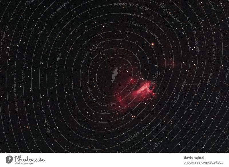 Omeganebel Himmel Natur Sommer rot schwarz Umwelt Kunst Deutschland Nebel Europa Technik & Technologie Abenteuer Zukunft Stern beobachten Wolkenloser Himmel