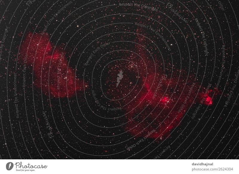 Herz-, Seelen- und Fischkopfnebel Himmel Natur Herbst Umwelt Kunst Deutschland Nebel Europa Technik & Technologie ästhetisch Zukunft Stern beobachten