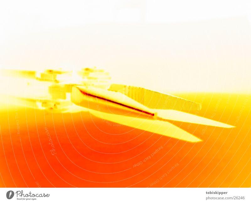 Leatherman Wave weiß gelb Arbeit & Erwerbstätigkeit orange gold Industrie Technik & Technologie Handwerk bauen Werkzeug gebrauchen Zange