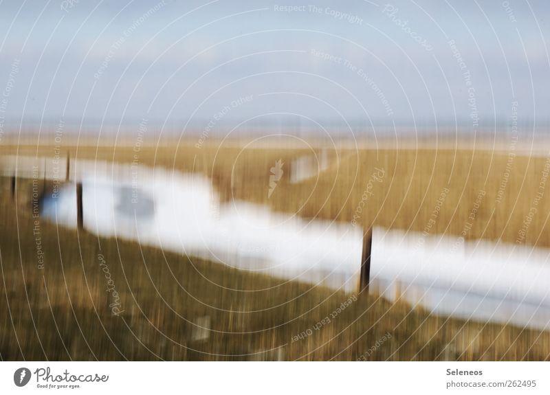 winter. eine impression. Himmel Natur Ferien & Urlaub & Reisen Winter Ferne Umwelt Landschaft kalt Schnee Freiheit Gras Wetter Eis Feld Klima Ausflug