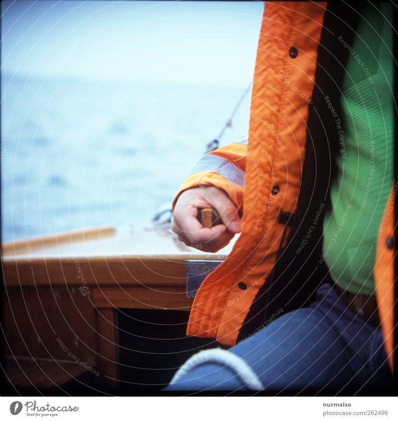 Steuermann Mensch Natur Hand Meer Erwachsene Sport Arme Freizeit & Hobby Finger Lifestyle Ostsee Brust Segeln Schifffahrt Bauch Wassersport