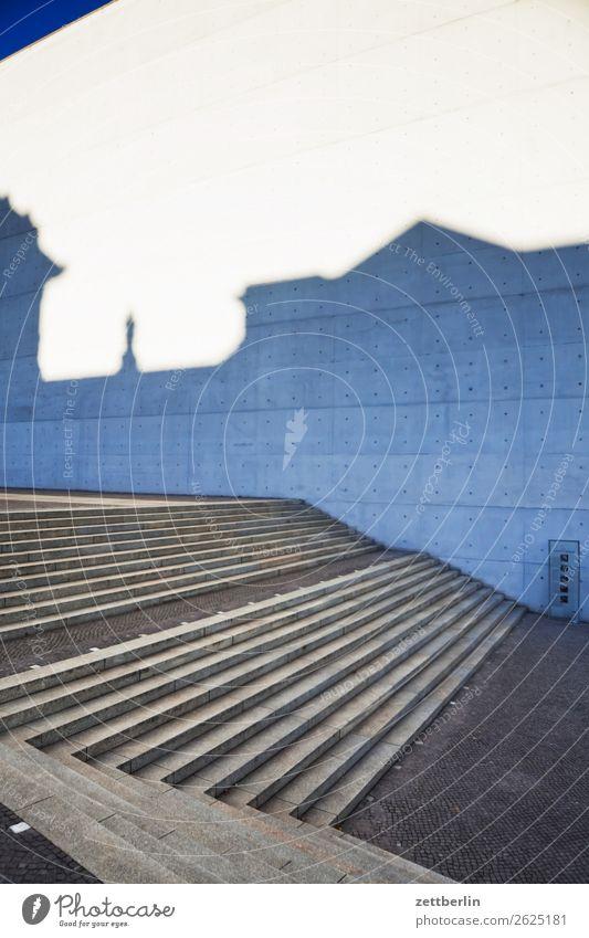 Paul-Löbe-Haus Architektur Berlin Büro paul-löbe-haus Regierungssitz Regierungspalast abgeordnetenbüro Fassade Beton Treppe Niveau Freitreppe Deutschland