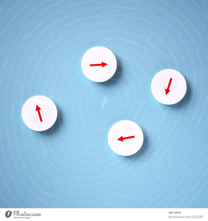 kein Ende blau weiß rot Umwelt Zusammensein Business Zufriedenheit Schilder & Markierungen Erfolg Telekommunikation Zeichen planen Team Zusammenhalt Pfeil