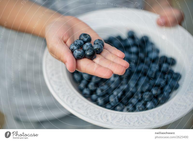 Heidelbeeren Lebensmittel Blaubeeren Beeren Ernährung Bioprodukte Vegetarische Ernährung Diät Teller Schalen & Schüsseln Lifestyle Sommer Landwirtschaft
