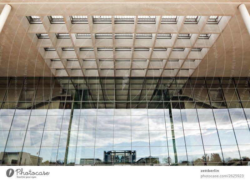 Paul-Löbe-Haus again Architektur Berlin Deutscher Bundestag Büro Großstadt Deutschland Froschperspektive Hauptstadt paul-löbe-haus paul löbe Berlin-Mitte modern