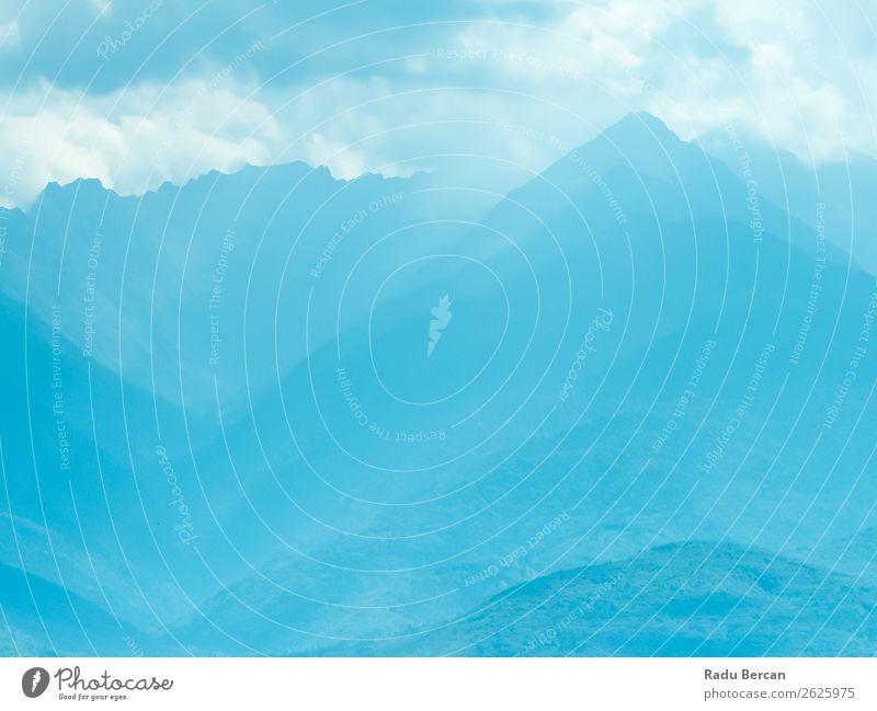 Himmel Ferien & Urlaub & Reisen Natur Sommer blau schön Landschaft weiß Wolken Wald Ferne Berge u. Gebirge Umwelt Tourismus Freiheit Felsen