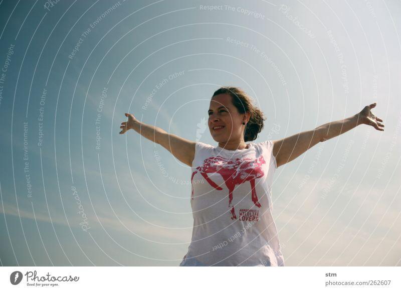 freiheitsblau [beyond the sea 33] Lifestyle Freude Glück Ferien & Urlaub & Reisen Ausflug Abenteuer Ferne Freiheit Sommer Sommerurlaub Sonne Sonnenbad Strand