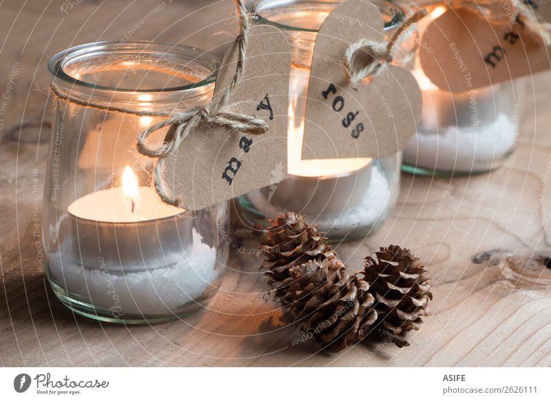Weihnachtskerzen für alle Gäste Mittagessen Abendessen Dekoration & Verzierung Tisch Feste & Feiern Valentinstag Erntedankfest Weihnachten & Advent Handwerk