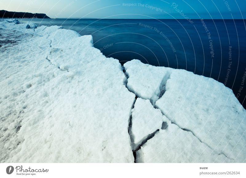 Eisgrenze Himmel Natur blau Wasser weiß Meer Strand Winter Landschaft Umwelt kalt Schnee Küste Horizont Eis außergewöhnlich