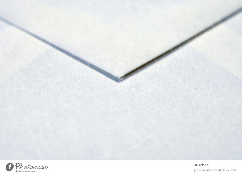 briefwechsel (2) Brief Briefumschlag Briefwechsel Information Post Absender altmodisch analog weiß einfach minimalistisch Textfreiraum Gruß