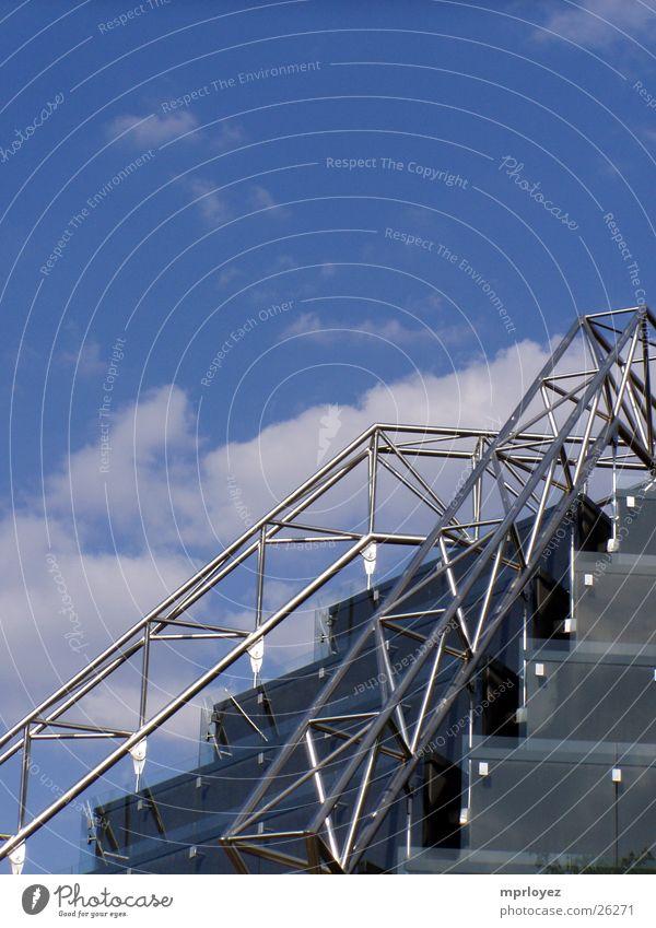 Himmelstreppe Froschperspektive Aluminium Architektur Treppe