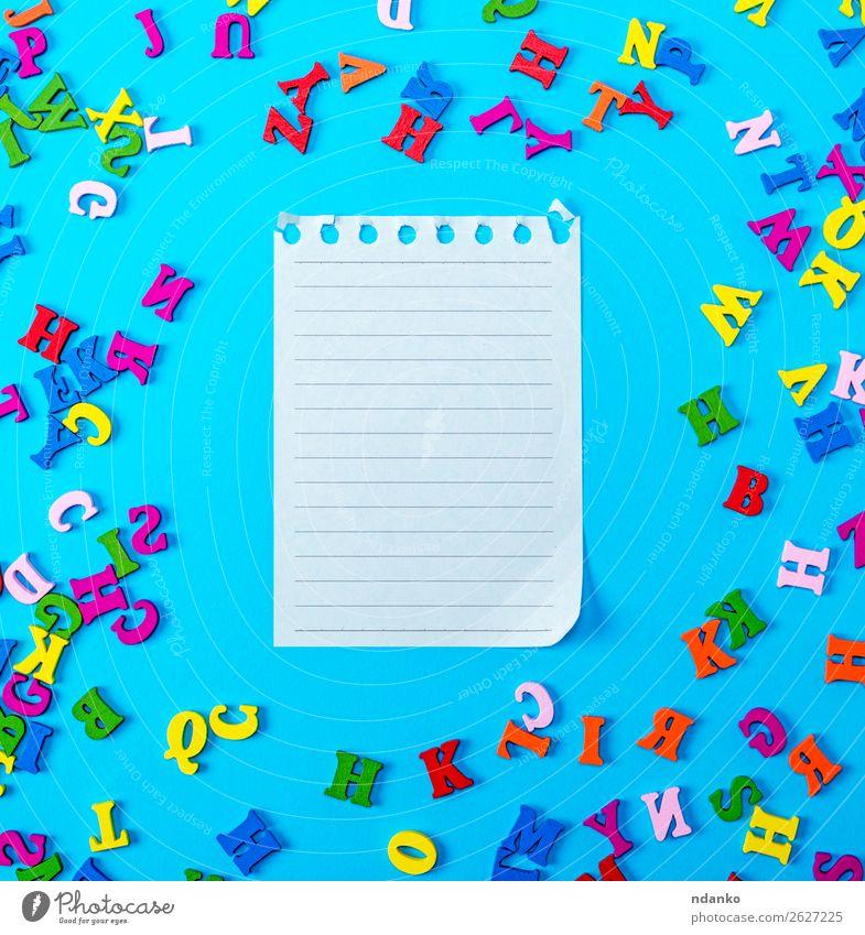Kind blau Farbe grün weiß rot Freude Holz gelb natürlich Schule rosa Büro Dekoration & Verzierung offen Buch