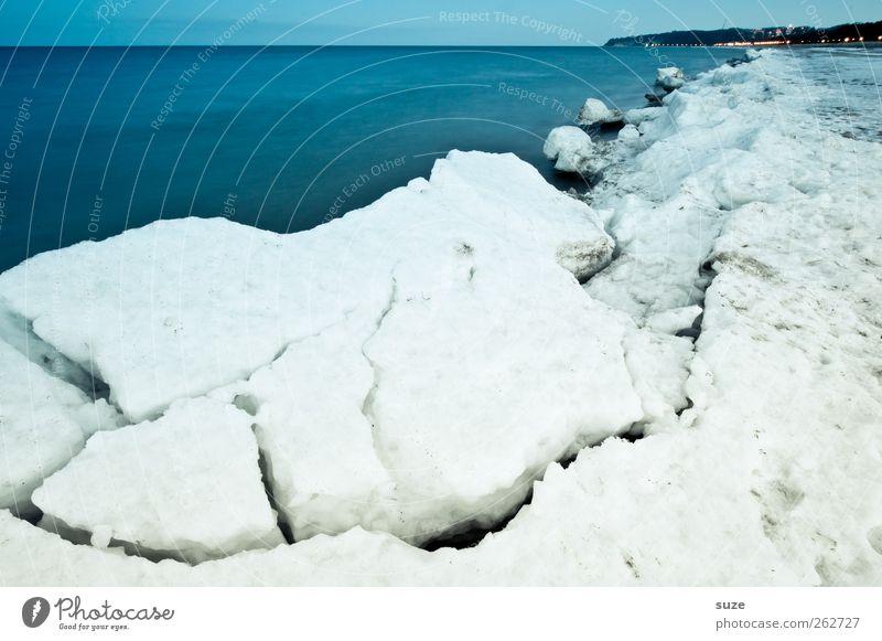 On the Other Side Himmel Natur blau weiß Meer Strand Winter Landschaft Umwelt kalt Schnee Küste Horizont Eis außergewöhnlich Wetter