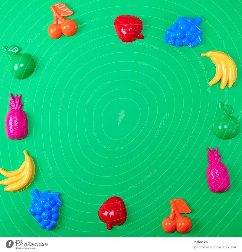Kind Sommer blau Farbe grün rot Freude gelb Spielen Frucht rosa oben Design hell Dekoration & Verzierung Kreativität