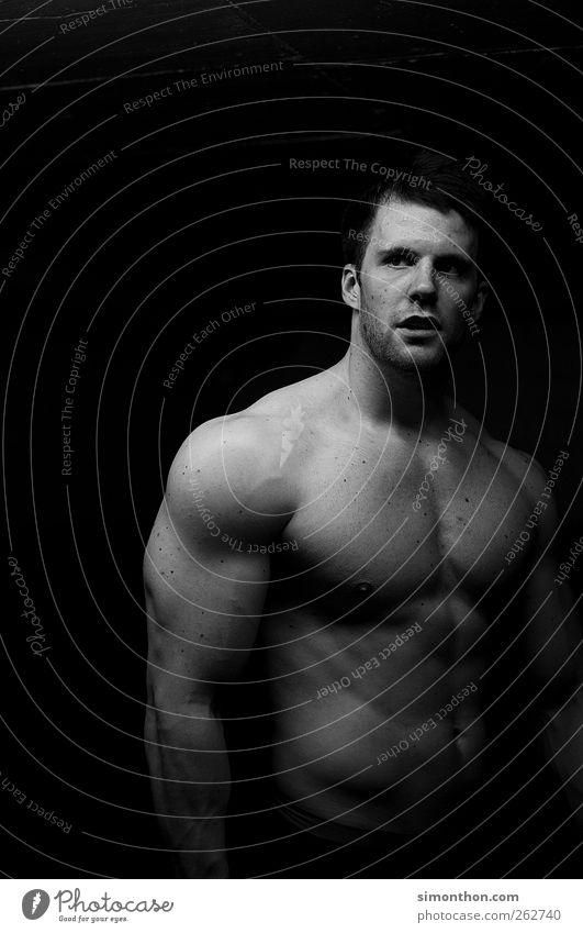 bodybuilding Mensch Jugendliche schön Erwachsene nackt Junger Mann Sport 18-30 Jahre Gesundheit Körper Kraft maskulin Macht einzigartig Fitness stark