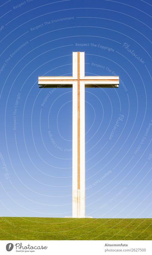 Kreuzpapst im Phoenix Park in Dublin, Irland Himmel Denkmal hoch Hoffnung Religion & Glaube Aktiengesellschaften Katholizismus Kreuzform Dublin - Irland