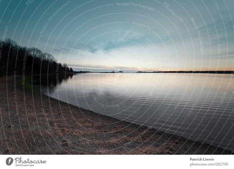 gone tomorrow Umwelt Natur Landschaft Urelemente Erde Wasser Himmel Wolken Wetter Wellen Küste Strand Bucht Meer Stimmung Abenteuer Einsamkeit einzigartig