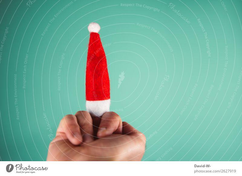 Gab letztes Jahr wohl die falschen Geschenke Feste & Feiern Weihnachten & Advent Mensch maskulin Mann Erwachsene Kindheit Jugendliche Leben Hand Finger 1 Kunst