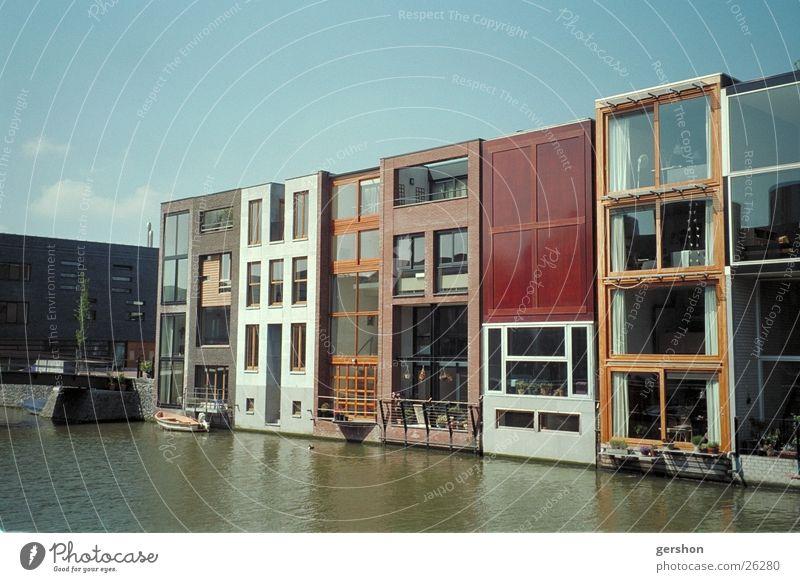 borneo island in amsterdam Architektur Wohnen am Wasser