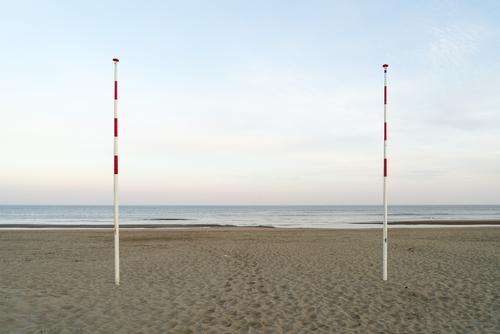 –   –   – Ferien & Urlaub & Reisen Natur Sommer Wasser Landschaft Meer Einsamkeit ruhig Ferne Strand Holz Umwelt Küste Freiheit Sand Horizont