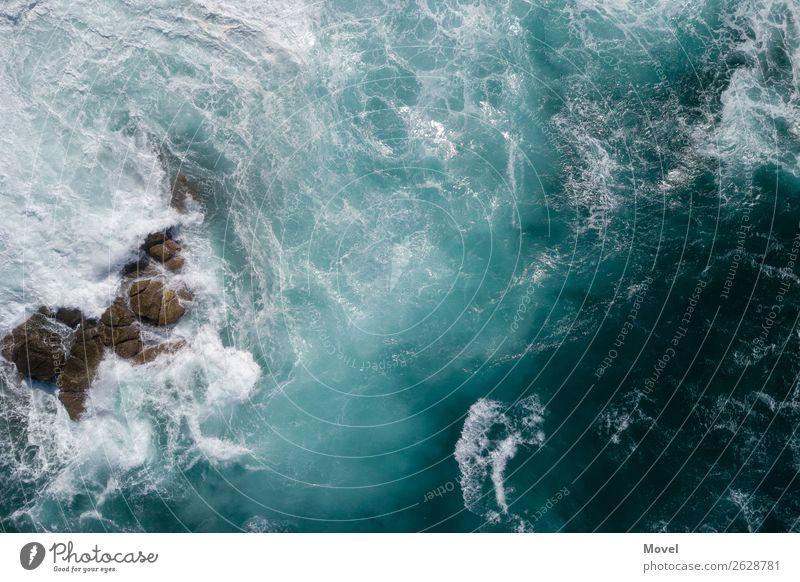 Surfaces Part 2 Natur Ferien & Urlaub & Reisen Farbe Wasser Meer Umwelt Küste Felsen Wellen Kraft Insel Abenteuer Wind Perspektive Wassertropfen Energie