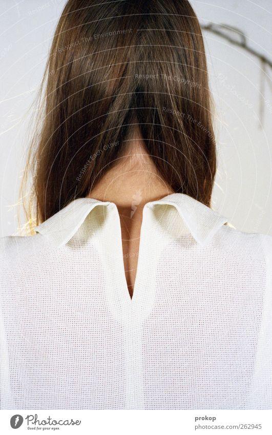 Vier. Arrangiert. Mensch Frau Jugendliche schön ruhig Erwachsene Erholung Leben feminin Kopf Haare & Frisuren Stil Mode Ordnung Design ästhetisch