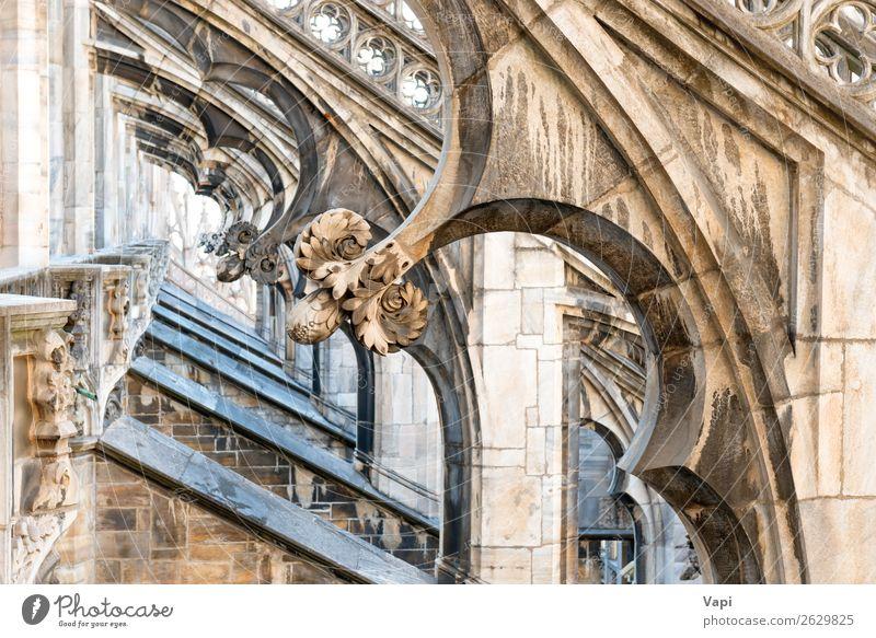 Ferien & Urlaub & Reisen alt schön weiß schwarz Architektur Religion & Glaube gelb Gebäude Kunst Tourismus Stein grau Dekoration & Verzierung Aussicht Europa