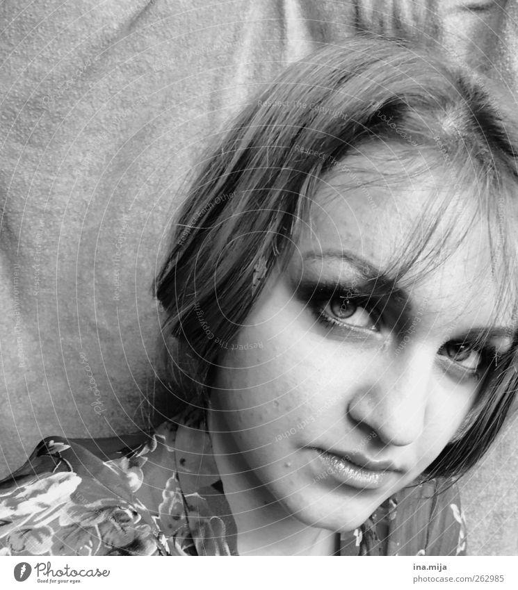 m. Mensch Jugendliche schön 18-30 Jahre Erwachsene Auge natürlich Haare & Frisuren authentisch ästhetisch fantastisch selbstbewußt Wimpern Pony Schüchternheit