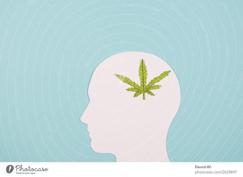 Drogen Mensch Jugendliche Mann Junger Mann ruhig Gesundheit Lifestyle Erwachsene Leben Gesundheitswesen Stil Kunst Kopf Denken Design maskulin