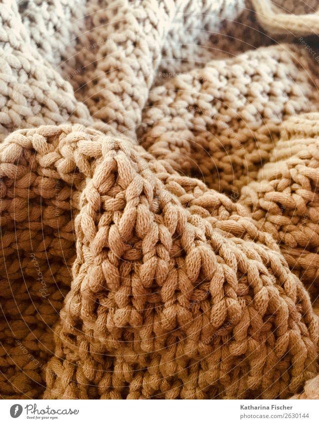 Gestricktes Pullover Jacke weich Wolle Strickmuster Seil stricken heizen Nähgarn Strickware Schlaufe kuschlig Decke Muster Strukturen & Formen Gedeckte Farben