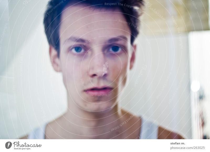 der milchmann Mensch Mann Jugendliche schön Erwachsene Liebe Mode Haut maskulin 18-30 Jahre Junger Mann Gelassenheit Theaterschauspiel brünett Lust Unterwäsche