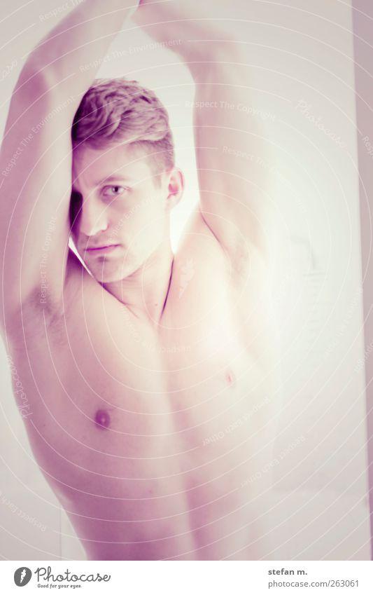 undercut Mensch Mann Jugendliche schön Gesicht Erwachsene Erholung Erotik Gesundheit Körper elegant maskulin 18-30 Jahre Model Sehnsucht Fitness