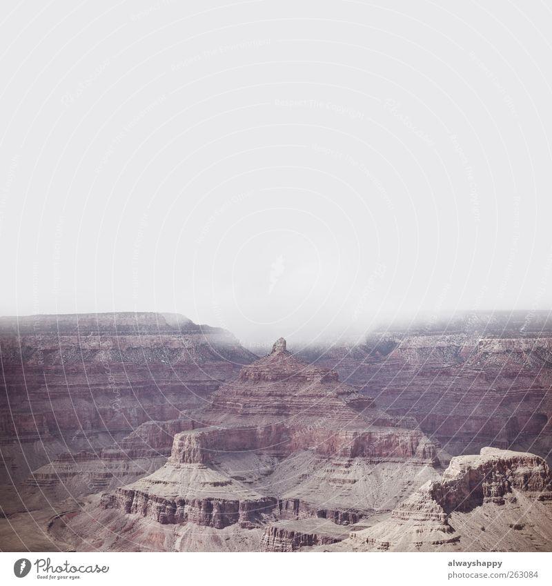 Grand Canyon Ferien & Urlaub & Reisen Tourismus Ausflug Abenteuer Ferne Freiheit Sightseeing Berge u. Gebirge Klettern Bergsteigen wandern ästhetisch gigantisch