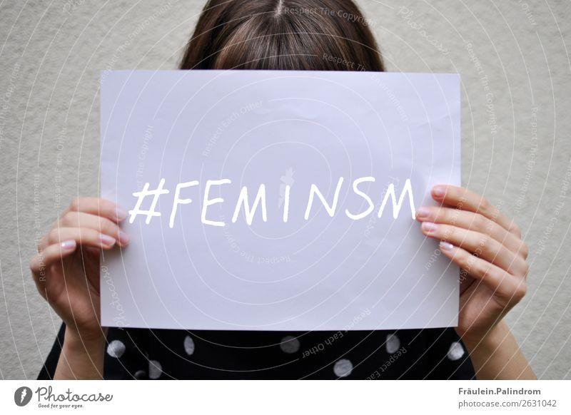 Feminismus Mensch maskulin Junge Frau Jugendliche Erwachsene Leben 1 Kultur Medien Neue Medien Internet Optimismus Kraft Macht Tatkraft Gerechtigkeit Fairness