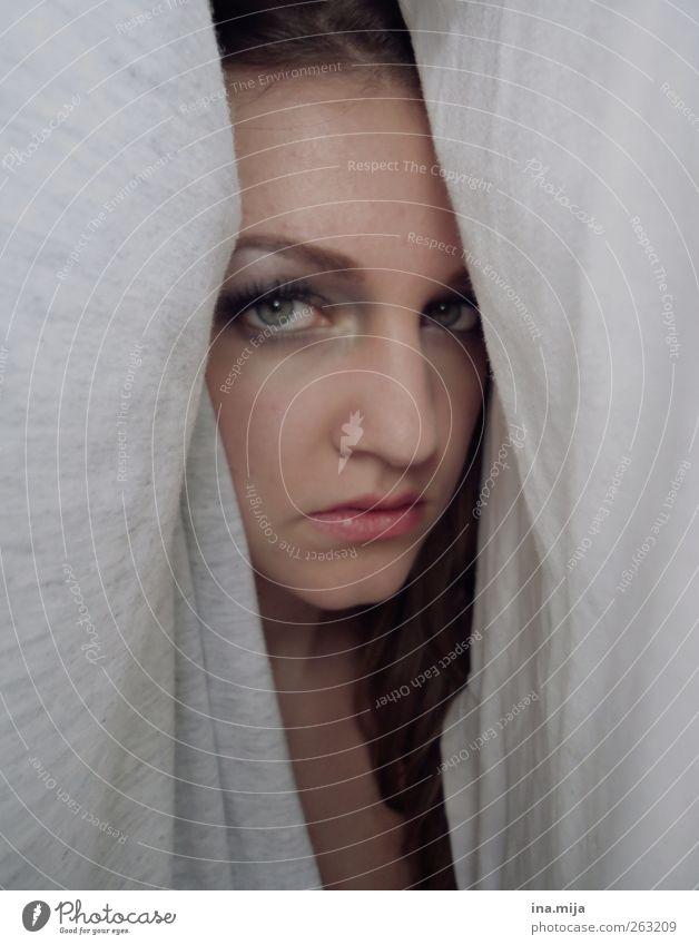 m. II Mensch Jugendliche schön Einsamkeit feminin Kraft ästhetisch authentisch Junge Frau Romantik Neugier Sehnsucht 13-18 Jahre Kosmetik brünett Verliebtheit