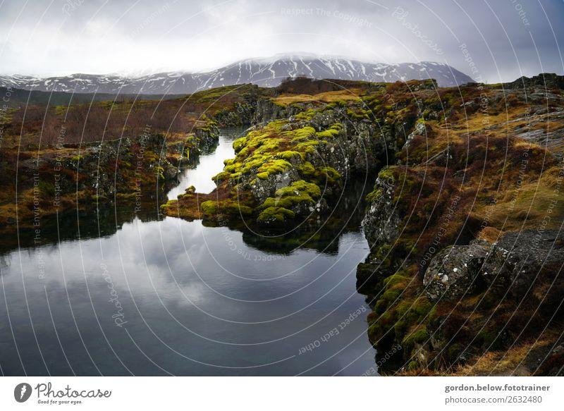 #Island der Spiegel der Natur Himmel Pflanze blau grün Wasser Landschaft weiß Erholung Wolken schwarz Herbst Schnee außergewöhnlich Stein braun