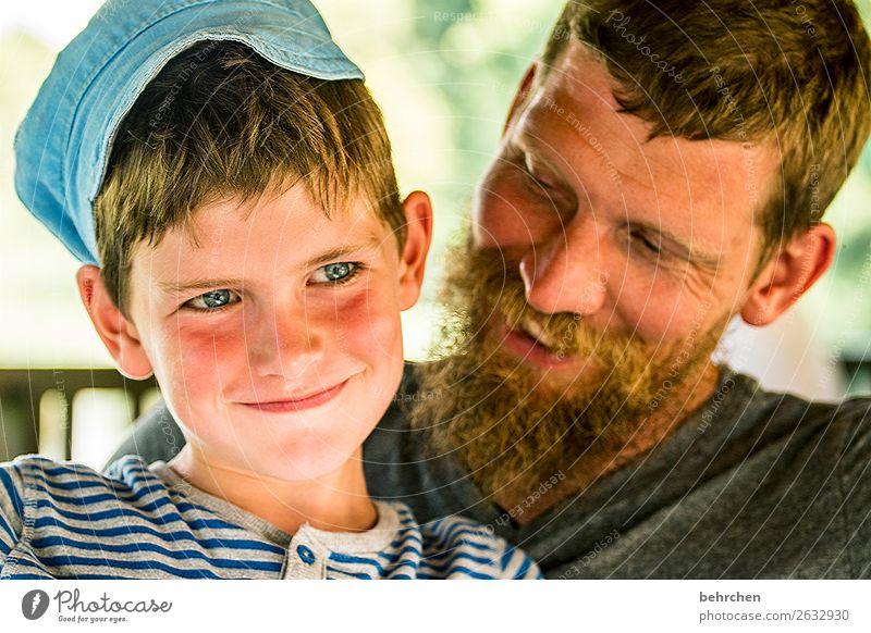 faustdick und so;) Kind Mensch Mann Gesicht Auge Erwachsene Liebe Familie & Verwandtschaft lachen Glück Junge Spielen Haare & Frisuren Kopf Zusammensein