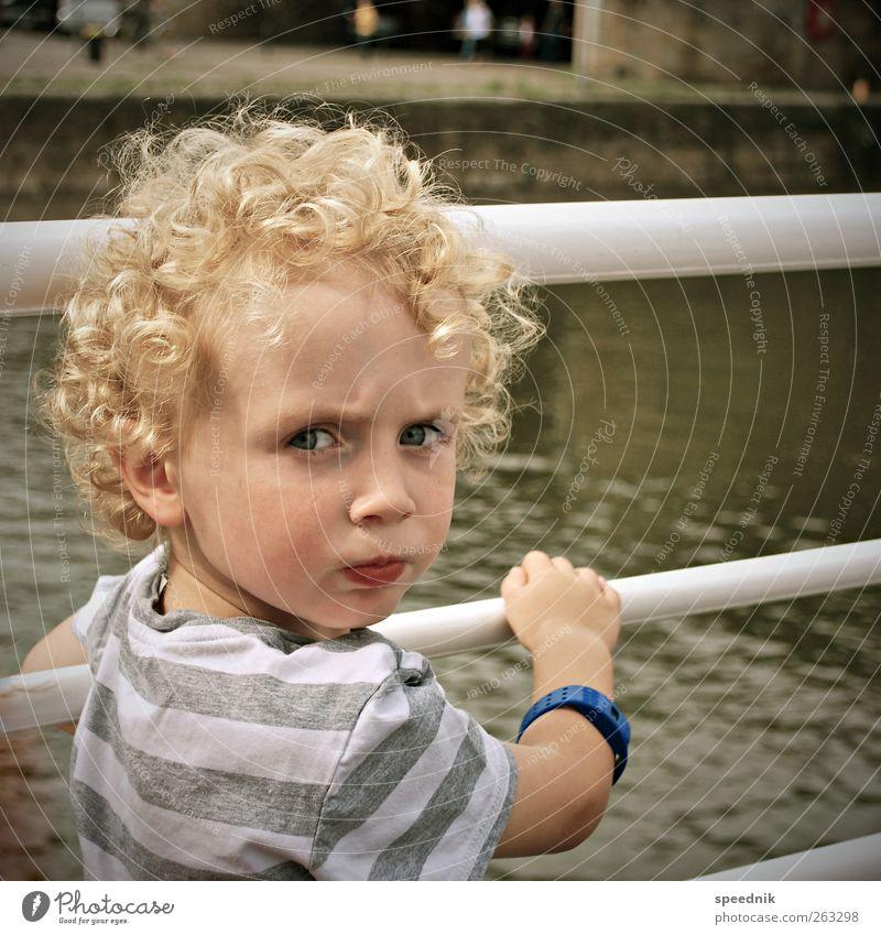 Afro-Dieter aka speed jr. aka Kumpel Mensch Kind Wasser Sommer Gefühle Junge Wärme Kopf Kindheit blond maskulin Ausflug Tourismus beobachten Schönes Wetter