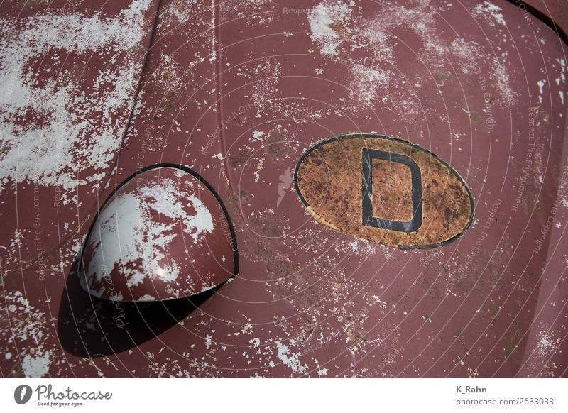 """Deutschland Verkehr Verkehrsmittel Personenverkehr Straßenverkehr Autofahren Fahrzeug PKW Oldtimer Zeichen Schriftzeichen """"alt antikes classic klassik nostalgie"""