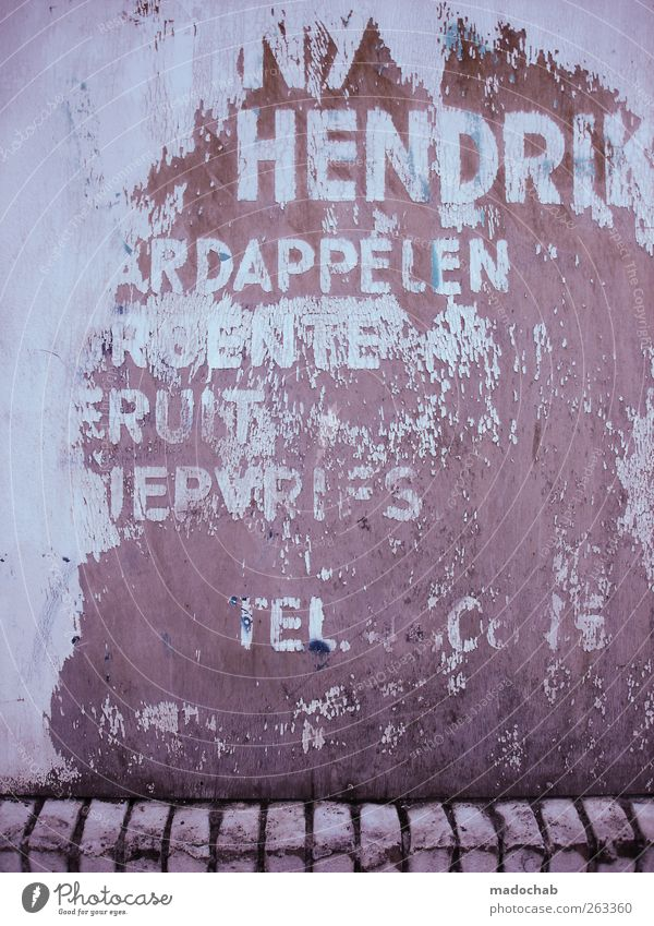 Kein Textfreiraum - Call +1600 Photocase Mauer Wand Fassade Zeichen Schriftzeichen Ziffern & Zahlen dreckig hässlich kaputt trashig trist geizig Stadt Verfall