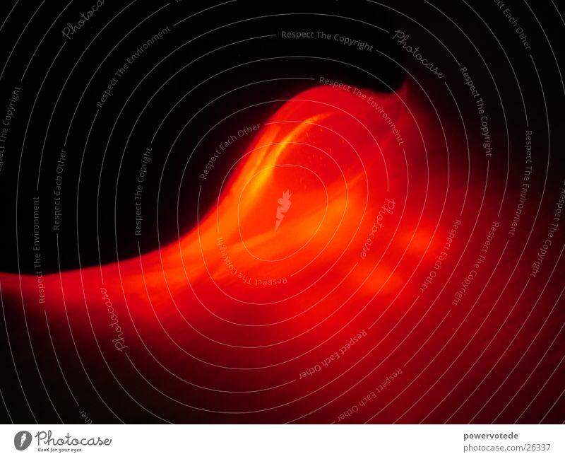 redexplore rot Wellen Nacht Langzeitbelichtung Design wave night