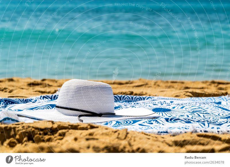 Ferien & Urlaub & Reisen Natur Sommer blau Wasser Landschaft weiß Sonne Meer Erholung Strand Lifestyle Wärme Umwelt natürlich Küste