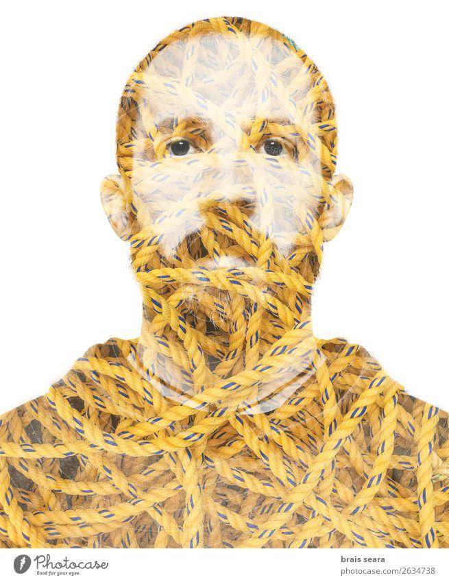 Mensch Natur Mann schön Hand Erotik Gesicht Erwachsene gelb Traurigkeit Kunst Angst maskulin trist Kreativität Industrie