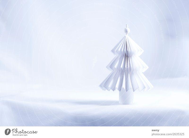 white tree Umwelt Landschaft Winter Eis Frost Schnee Baum Menschenleer Papier Feste & Feiern hell Sauberkeit weiß Gefühle Stimmung Liebe Glaube Design