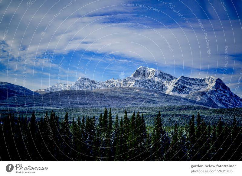 #Kanada Rocky Mountains Himmel Natur Pflanze blau grün Landschaft weiß Baum Wolken Winter schwarz außergewöhnlich braun grau Felsen Erde