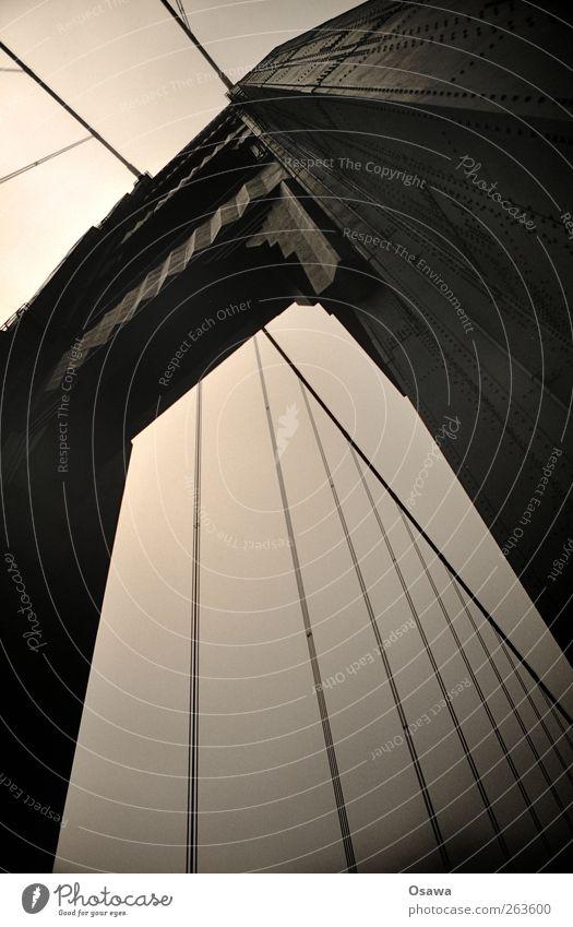 Golden Gate Himmel Architektur Wege & Pfade Seil Brücke USA Bauwerk Wahrzeichen Amerika Konstruktion Sehenswürdigkeit Niete Stahlkonstruktion Hängebrücke