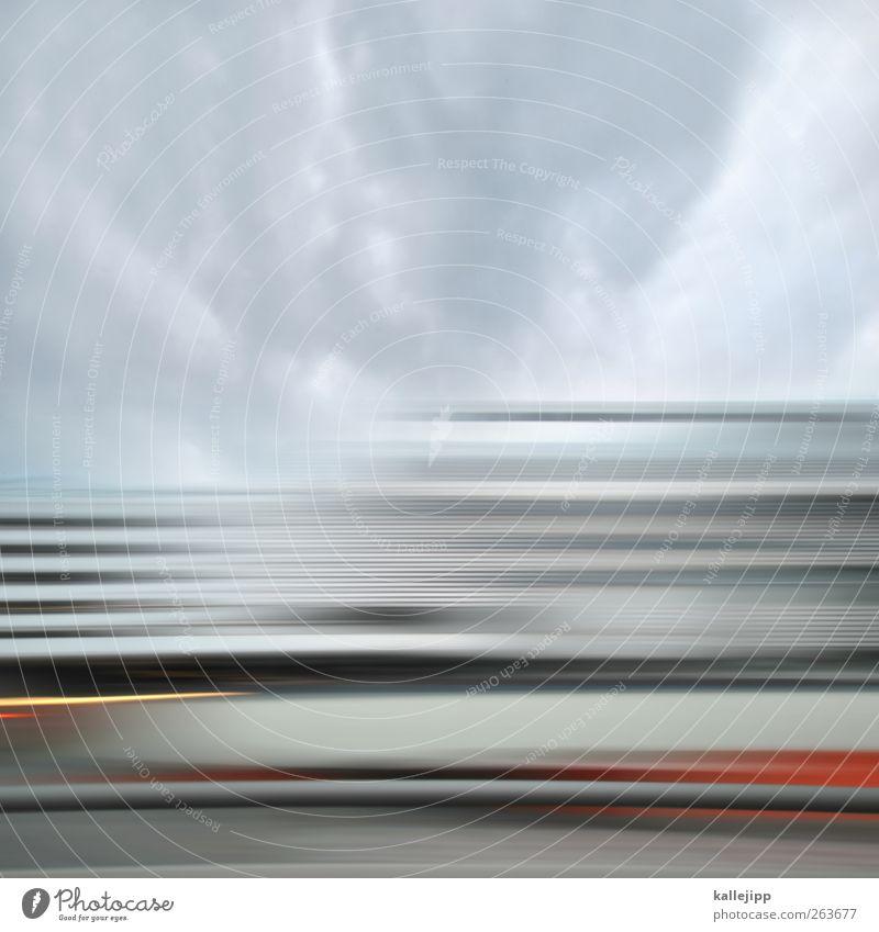 icc berlin Stadt Geschwindigkeit Autobahn Verkehr Linie Wolken Güterverkehr & Logistik Reisefotografie Verbindung transferieren Farbfoto mehrfarbig