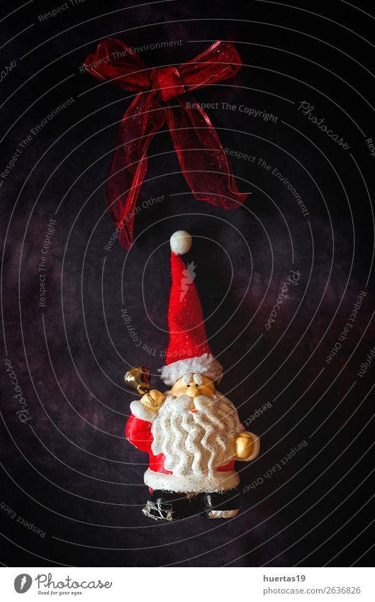 Weihnachten & Advent rot Winter dunkel Religion & Glaube Stil Feste & Feiern Kunst oben Design Dekoration & Verzierung elegant Kreativität Postkarte