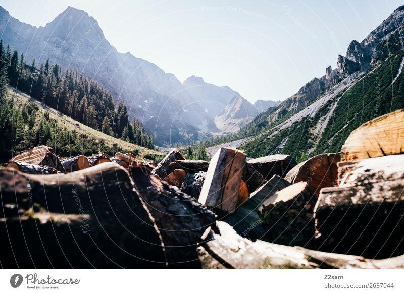 Blick Richtung Seescharte | E5 Abenteuer wandern Natur Landschaft Sommer Schönes Wetter Alpen Berge u. Gebirge nachhaltig natürlich ruhig Einsamkeit Erholung